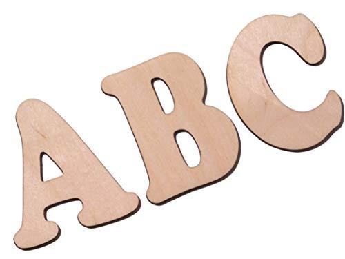 Holzbuchstaben/Buchstabenrohling 10cm zum bemalen. Als Wunschname individualisierbar.
