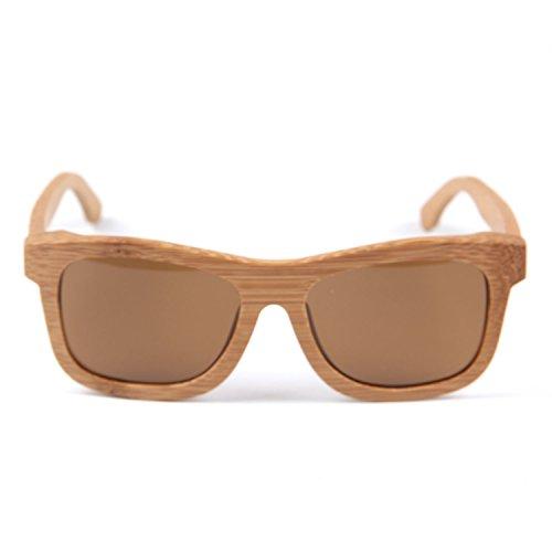Freiesoldaten Herren und Damen Handarbeit Voll Rahmen Draussen Sonnenbrille Leicht Holz beschichtet Brille mit Laser Muster
