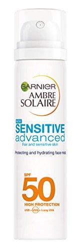 Ambre Solaire Sensitive Hydrating Face Sun Cream Mist SPF50 75ml