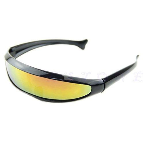 JAGENIE Bicycle Motorcycle Sunglasses UV400 Anti Wind Sand Goggles Protective Glasses BK