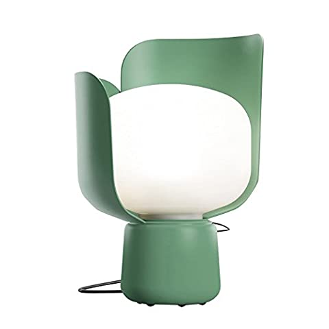 Blom - Lampe de table vert/métal/H: 24cm/Ø: 15cm