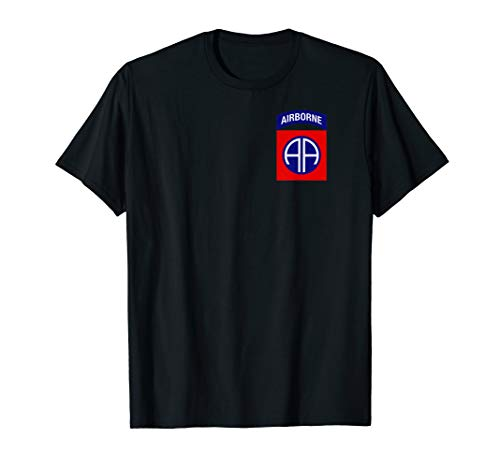 82nd Airborne Shirt - 82nd Airborne Division Patch T-Shirt - 82nd Airborne Shirts