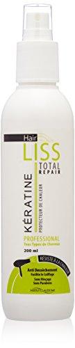 Veana Claude Bell HairLiss Keratin - Hitzeschutz für Ihr Haar, 1er Pack (1 x 200 ml)