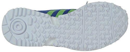 adidas Racer Lite Unisex-Kinder Sneakers Blau (Bluebird/Solar Yellow/Ftwr White)