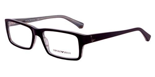 Emporio Armani Rectangular Sunglasses (Black) (EA510BL52) image