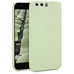 MyGadget Coque Silicone pour Huawei P10 - Ultra Fin & Flexible - Housse TPU Protection No Scratch Case Anti Choc et Rayures - Cover Vert Menthe