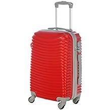 Trolley da cabina cm.50 e 55 valigia rigida 4 ruote in abs policarbonato antigraffio e impermeabile compatibile voli lowcost come Easyjet Rayanair art 2030