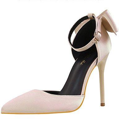 Da donna-Tacchi-Matrimonio Serata e festa-Comoda Innovativo-A stiletto-Seta-Nero Rosa Rosso Grigio Dorato Gold