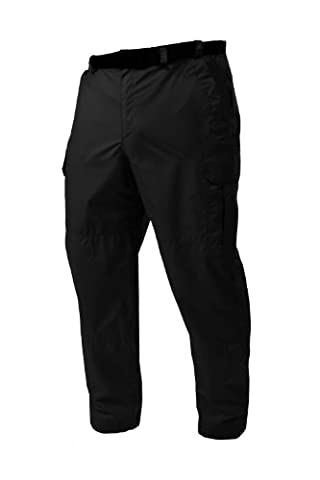 Target Dry Expedition Unisex Waterproof Cargo Trousers (Liquorice Black, XX-Large Reg)