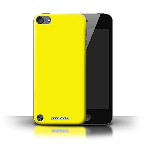 Stuff4® Hülle/Hülle für Apple iPod Touch 5 / Gelb Muster/Farben Kollektion
