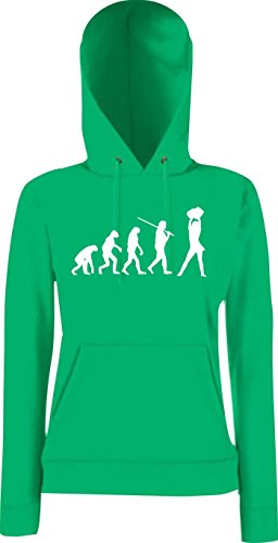 Krokodil Lady Kapuzensweatshirt Evolution Cheerleader Cheerleading Kostüm Fun Sport Tanz, Farbe: kelly, Größe - Evolution Of Dance Kostüm