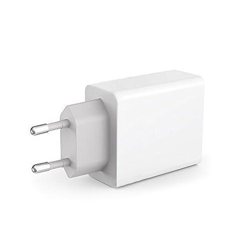 Top-Longer USB Chargeur Adaptateur Mobile Adaptateur Secteur USB Mural Dual