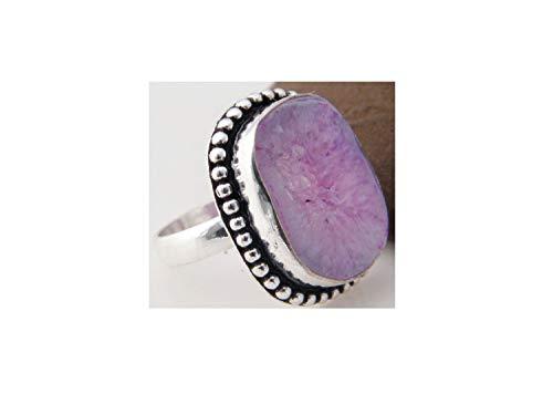 er Plated Ring Handmade Designer Ring Jewelry (Ring Size 9 USA) AH-12048 ()