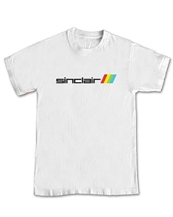 Sinclair 'Retro Logo' GAMING T-shirt - (White) 2XL