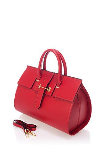 laura-moretti-sac-main-en-cuir-rouge-lisse-style-satchel