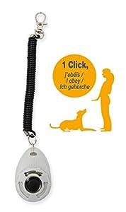 YAGO Clicker De Dressage pour Chien, Outil Education Chien, Clicker Training, Outil Apprentissage Propreté, Bon Comportement pour Chien