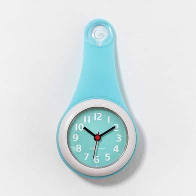 ETH Sencillo Hogar Baño De Pared Reloj Impermeable