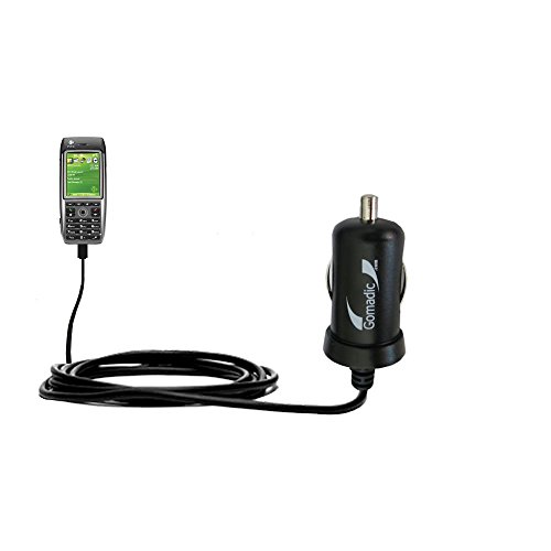 10W Mini-Autoladegerät kompatibel mit HTC MTeoR mit Energiespartechnologie und TipExchange