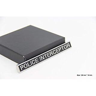 B443 Police interceptor Emblem Badge auto aufkleber 3D car Sticker