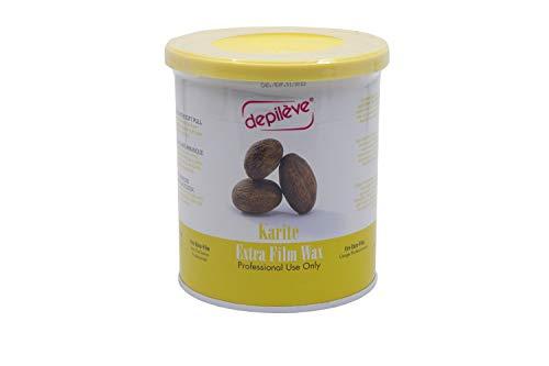 Depileve Karite Extra Film Wax, für ein professionelles flexibles Waxing, Haarentfernung, 800gr