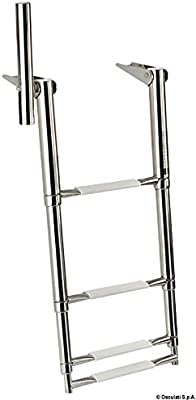 Scaletta 4 gradini con maniglia 345 mm English: 4-step ladder w/handle 345 mm