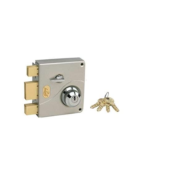 Godrej Ultra Tribolt 2C Deadbolt Satin Nickel (Free Installation)