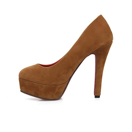 Balamasa, Pull-on, Tomaia A Effetto Satinato, Pompe-shoes Marrone (marrone)