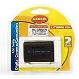 Hahnel Batterie Li-Ion Equivalente Sony NP-FM55h 7,2 V 1500 mAh