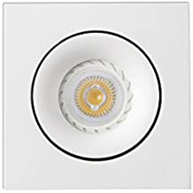Faro Barcelona Argón 43402 - Empotrable LED, aluminio, color blanco