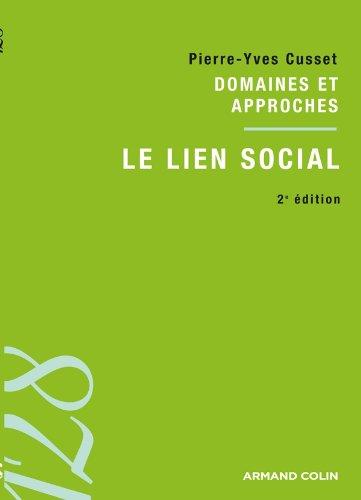 Le lien social: Domaines et approches