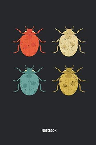 Ladybug Notebook: Lined Retro Ladybug Notebook / Journal. Great Ladybug Accessories & Novelty Gift Idea for all Ladybug Girls & ()