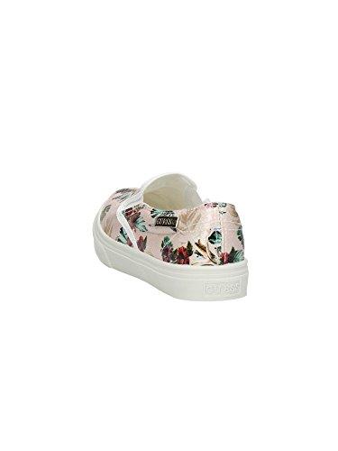 Scarpe Sneakers Donna Guess Mod. GRETA SLIP-ON SNEAKER FL2GTAFAP12 Col. Nero o Rosa. Rose