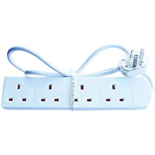 New Zealand Australia CHINA Travel Adaptor 1 Metre Power Extension Lead 4 UK Sockets