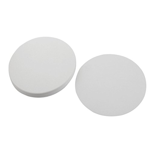 sourcingmap 100pcs 18cm Dia Circles Medium Flow Rate 102 Qualitative Filter Paper