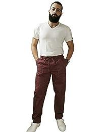 Pantaloni da Lavoro,per Cuoco, Cucina, Pizzaiolo,Panettiere,Infermiere,Pasticciere,Alimentari,Unisex,Made in Italy