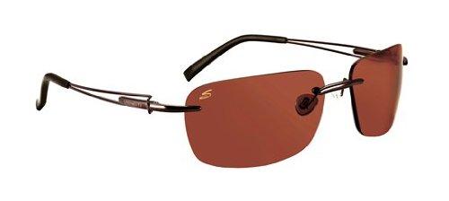 Serengeti Piers Sonnenbrille, Farbe Objektiv-Polar PHD Drivers, Kategorie-2-3, Braun