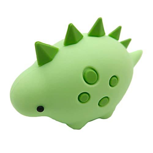 Nowbetter USB-Ladekabel für iPhone/iPad, Motiv Tiere mit grünem Schwertdrachen