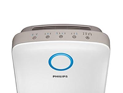 Philips Vollwertiges 2-in-1 Kombigerät, Luftbefeuchter und Luftreiniger in Einem, für Büro, zu Hause, AC4080/10