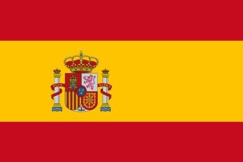 Flaggen der Welt-World Becher Flaggen 2014, verschiedene Designs Spanien -