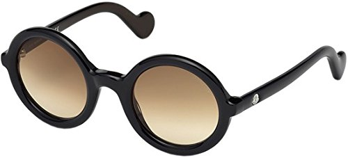 MONCLER Unisex Adults' ML0005 92F 50 Sunglasses, Blue (Blu)