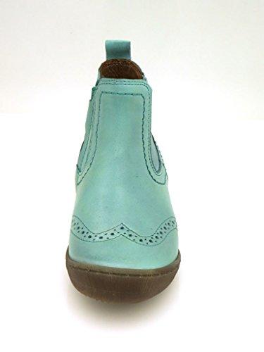 Ma-Ra Bottines Chelsea Boots Bottes Chaussures en cuir Aqua