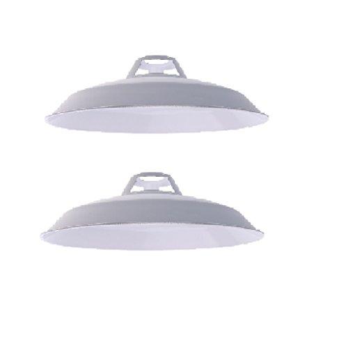 FITYLE 2pcs E27 E14 Blanc Ventilateur De Plafond Lustre Applique Murale Lumière Abat-Jour 1-3pcs Abats-Jour Ameublement et décoration