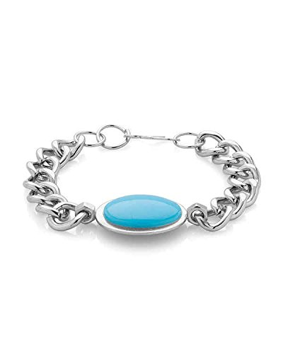 Factorywala Lustrous Salman Khan Inspired Bracelet Embedded With Blue Stone
