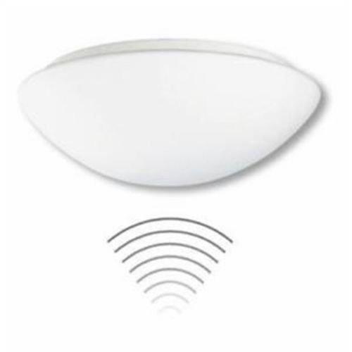 Steinel Sensor-Leuchte RS PRO 1000 G Sensor 2x18W TC-DEL Glasab. Decken-/Wandleuchte 4007841736811