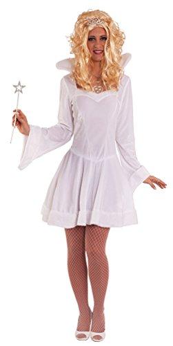 iskönigin Schneekönigin Damen-Kostüm Eisprinzessin sexy Kostüm Erwachsene Kleid Größe 40/42 (Schnee Königin Prinzessin Kleid Kostüme)