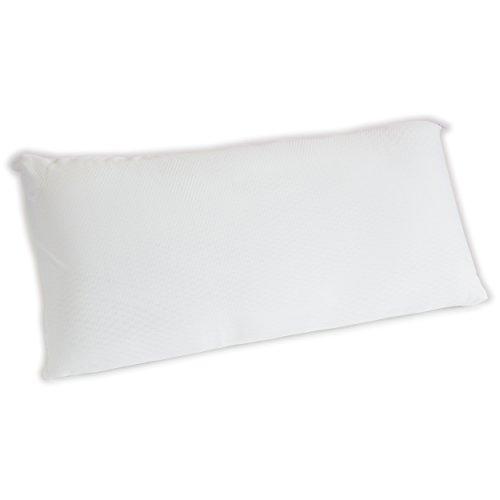 *7dreams Premium Nackenkissen Nackenstützkissen Bauchschläferkissen – viscoelastisch Memoryschaum – mit Reißverschluss – 40x80cm*