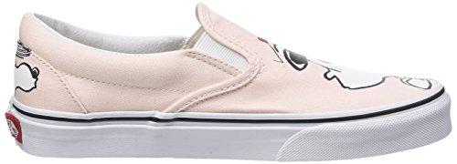 Arachidi Perla bel Arachidi De on Chaussures Corsa Femme Rosa Classico Furgoni Slip R7FPrnR