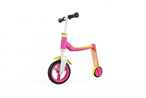 Scoot Corsa Autostrada Bambino 2 1 Rullo Ed Esegui Apprendimento Ciclo Uno (Rosa/Giallo)
