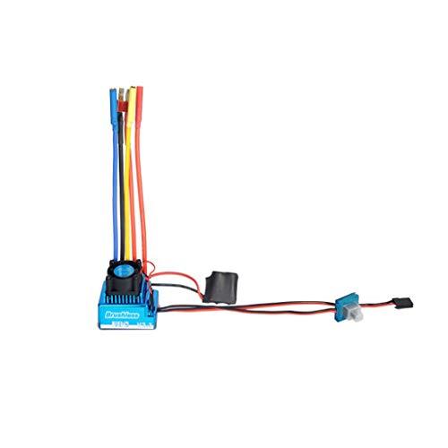 Fernbedienung, Chshe❤❤, 45/60/80 Wasserdicht/Elektro Brushless 120A Esc Für 1/10 Verordung Rc Car, Leistungsfähige Strom Leben Und Ausgabefähigkeit Gebautes Auto Bec (A) (Car Wasserdicht Rc Elektro)