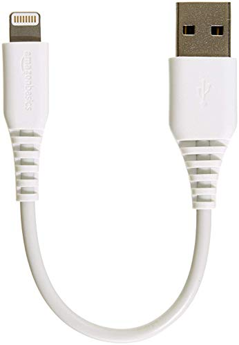 AmazonBasics Apple Certified Lightning to USB Charge and Sync Cable